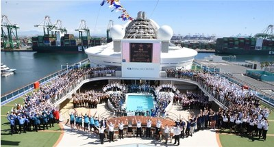 Our Princess Crew are the stars of the show on Grand Princess and in preparation for return to service in LA salute our recognition with the cast of The Love Boat by the Hollywood Walk of Fame.