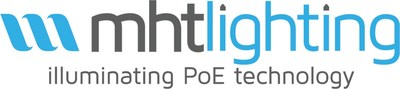 """MHT Lighting, with headquarters in New York City and its European headquarters in Dublin, is a pioneering software development firm in the lighting industry and the holder of three US patents related to its unique """"inspeXtor®"""" lighting control platform. PoE technology, where buildings from office towers, hospitals, and schools to residential apartment complexes are lit through """"smart"""" lights connected through ethernet cabling rather than electric power lines allows buildings to be truly green an (PRNewsfoto/MHT Lighting)"""
