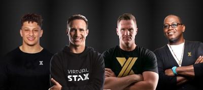 The all-star Global Ambassadors of VirtualStaX. (PRNewsfoto/TheXchange)