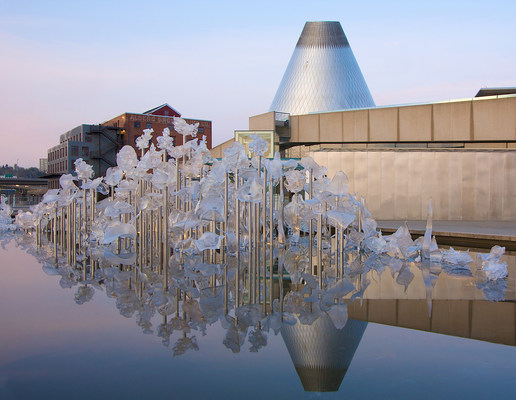 The Museum of Glass in Tacoma, Washington.