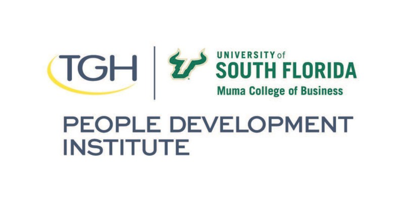 Tampa General Hospital and University of South Florida Muma College of Business People Development Institute Logo