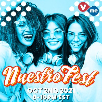 Vme TV will broadcast NuestroFest Hispanic Heritage Month Livestream (PRNewsfoto/Vme TV)